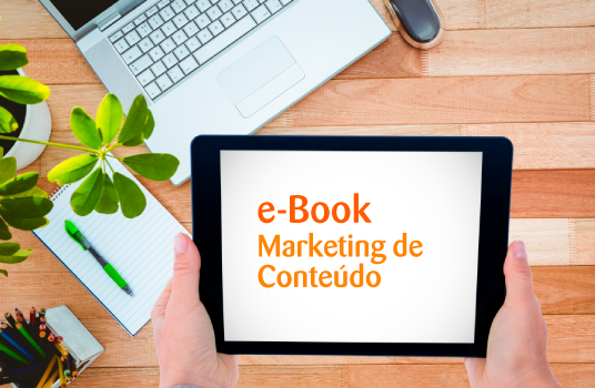 Imagem tópico onde está o marketing de conteúdo?