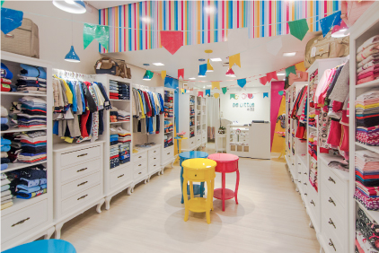 Imagem Interior da Loja da Be Little