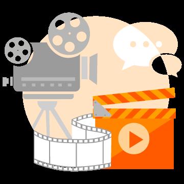 Imagem produto vídeos e animações