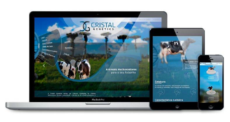 Imagem E-commerce Cristal Genetics