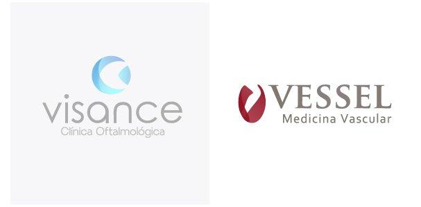Imagem logo visance e vessel