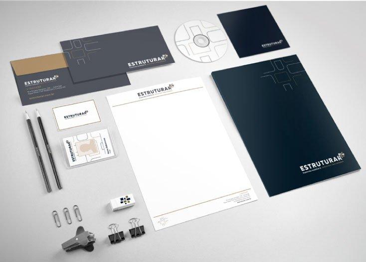 Imagem da categoria Papelaria Corporativa em Design Gráfico