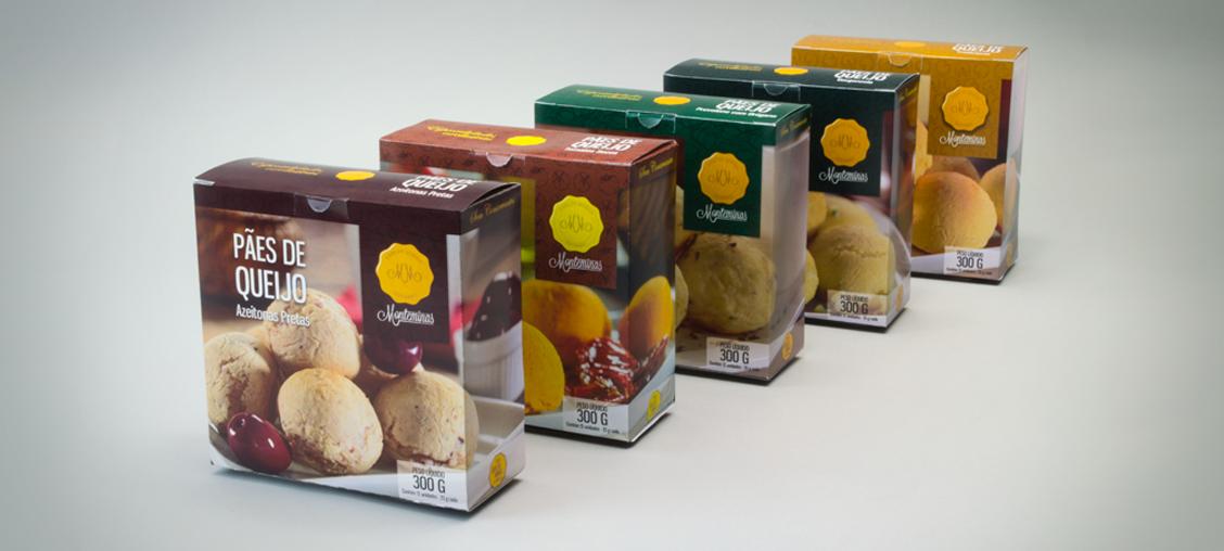 Imagem embalagem pão de queijo Monteminas
