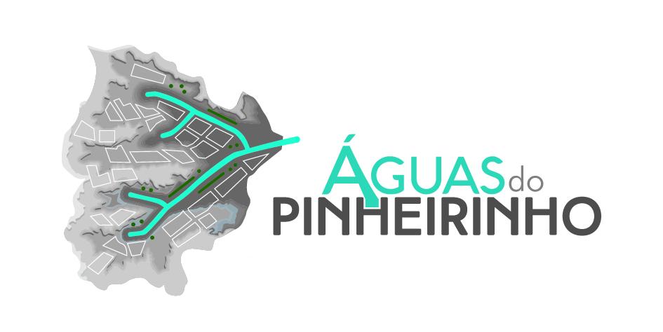 Logo Águas do Pinheirinho desenvolvida pela ElevaBD